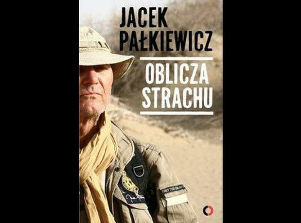 """okładka książki Jacka Pałkiewicza """"Oblicza strachu"""""""