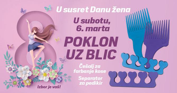 "Poklon uz ""Blic"" za Osmi mart"