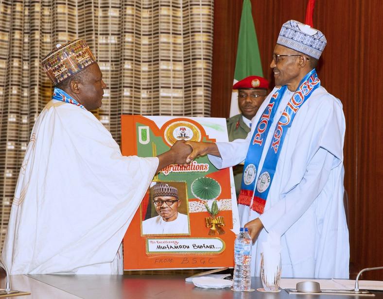 President Muhammadu Buhari [Twitter/@AsoRock]