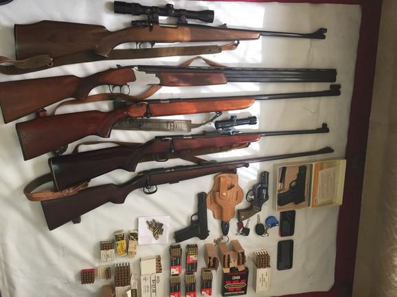 Zaplenjeno oružje u Kotoru
