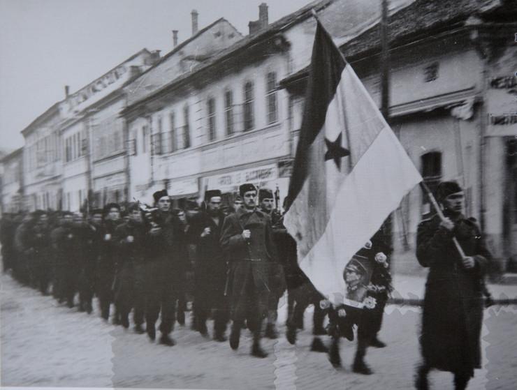 Užička republika, partizani