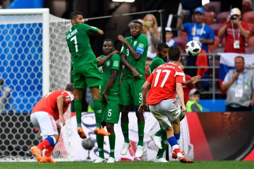 Mundial 2018 w Rosji: awaria samolotu z piłkarzami Arabii Saudyjskiej