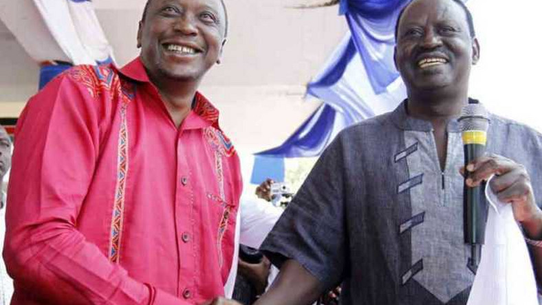 Image result for Mudavadi to work with Uhuru and Raila in 2022