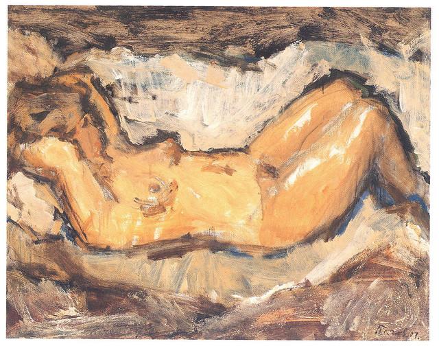 """Stojan Pačov, """"Akt"""", ulje na platnu, 2007."""