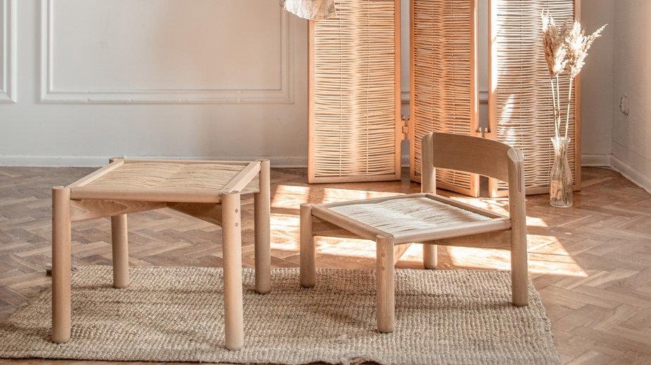 S'ploty - zestaw domowych mebli, które zaprojektowała Ewelina Lekka