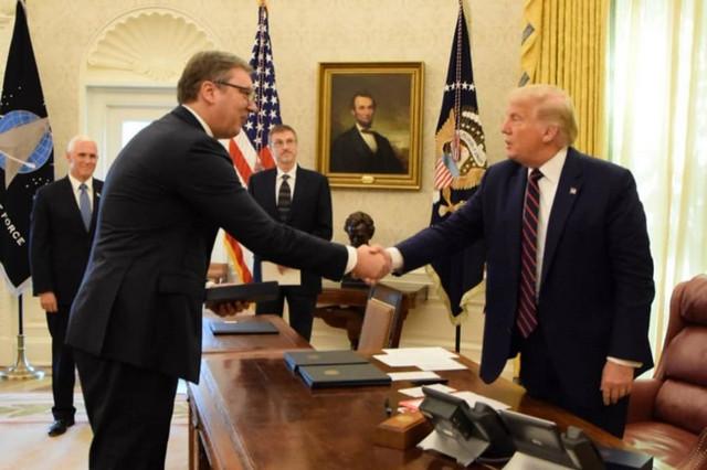 Potpisivanje sporazuma u Vašingtonu