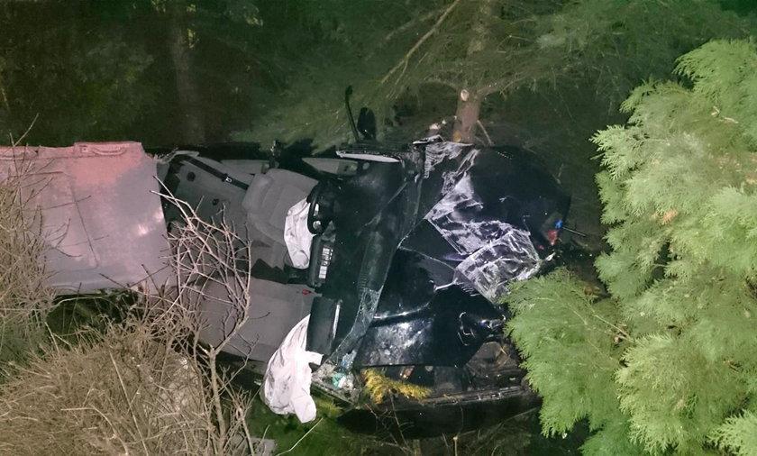 Audi skosiło latarnię