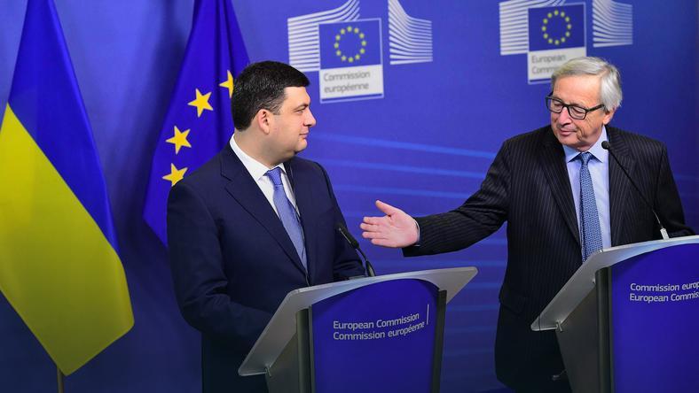 Spotkanie szefa KE i premiera Ukrainy