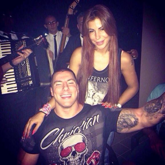 Markuš sa sestrom Zoranom