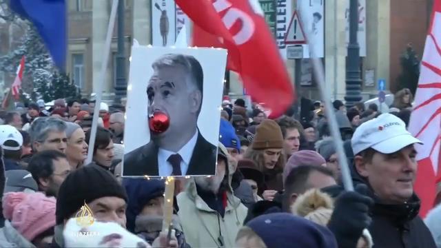 Protesti protiv Viktora Orbana u Madjarskoj