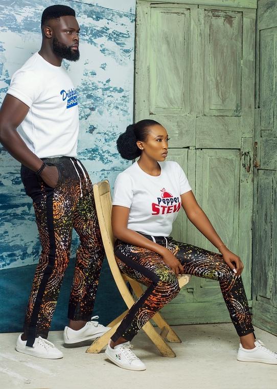 Ebun Oladoye X Yomi Casual collaborate for Afrocalypso Collection