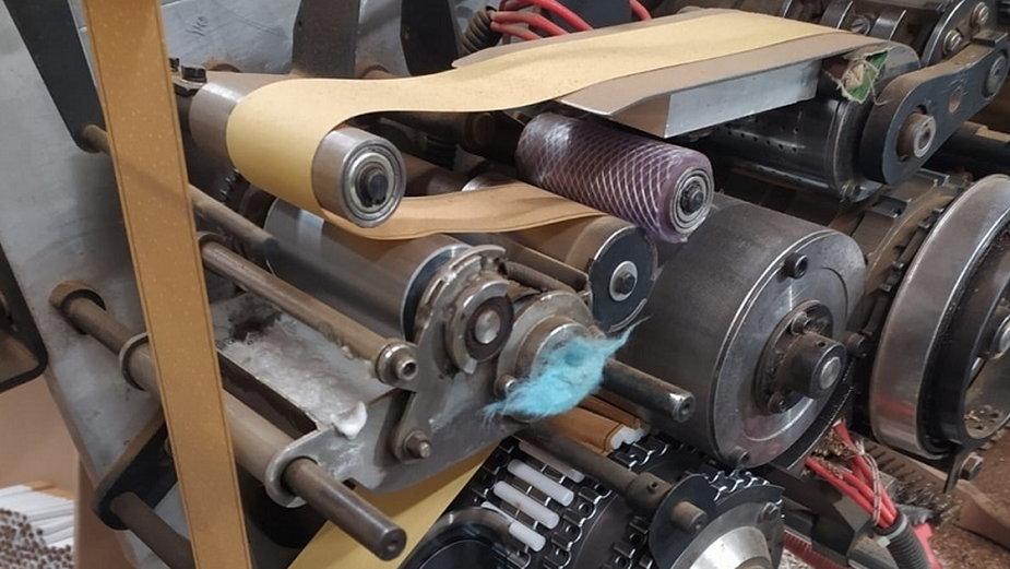 Papierosy - nielegalna fabryka