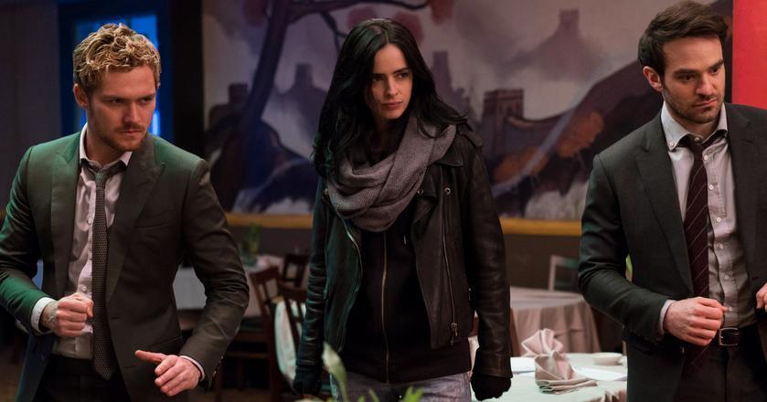 """Kadr z serialu """"Defenders"""", jednej z tegorocznych produkcji Netfliksa"""