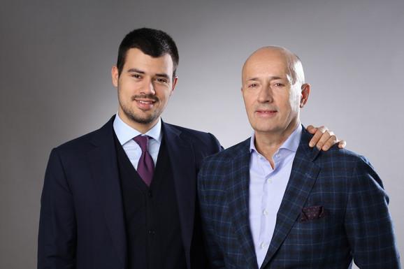 Miodrag Kostić, predsednik MK Group i Aleksandar Kostić, potpredsednik MK Group MK