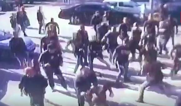 Tuča navijača u Zenici