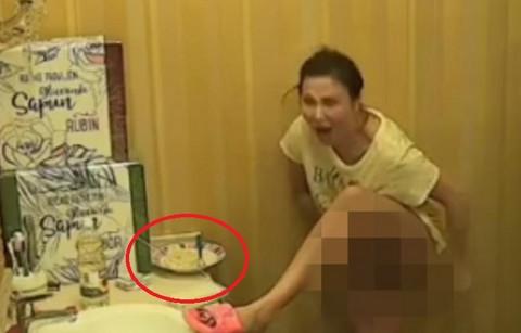 Pa ženo, da li si ti REALNA!? Depilirala se pored RUČKA i vrištala iz sveg glasa! (VIDEO)