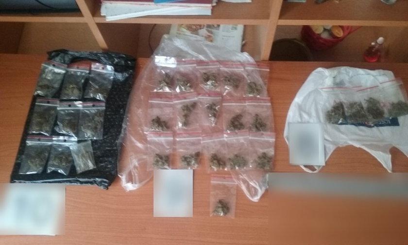 Diler z Kalisza trzymał w mieszkaniu 4 kg narkotyków