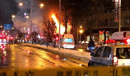 Wybuch w restauracji. Kilkadziesiąt osób rannych