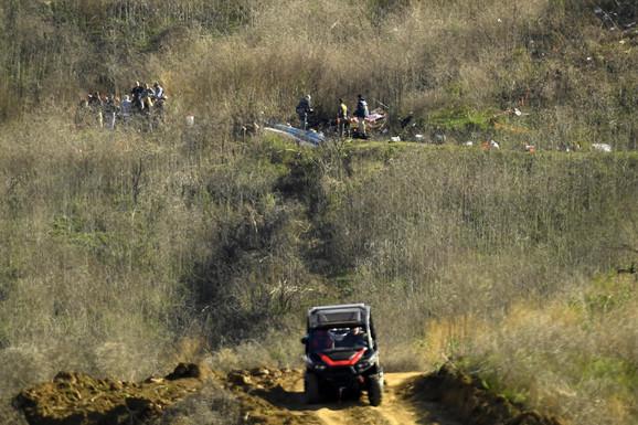 Mesto pada helikoptera u kome su poginuli Kobi Brajant, njegova ćerka Đijana i još sedam osoba
