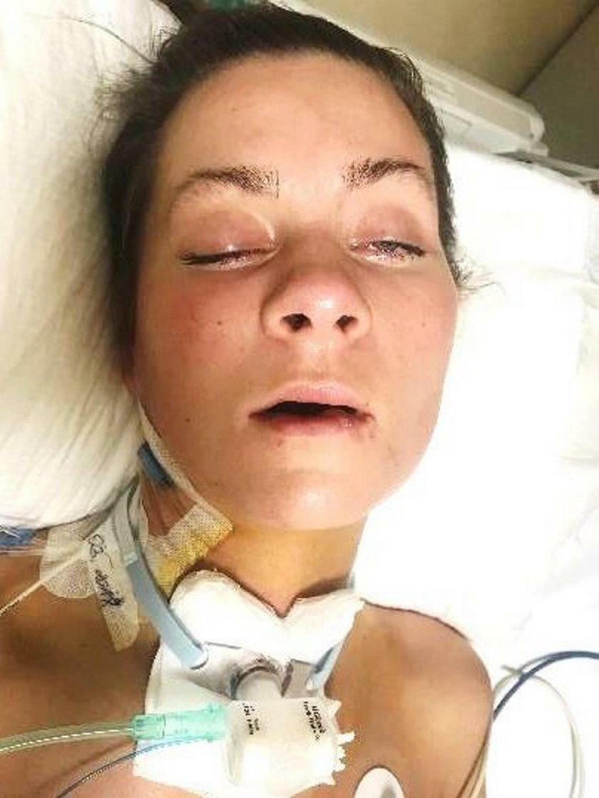Od czasu wypadku Patrycja przebywa w śpiączce