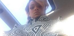 Rihanna już w Polsce! Błysnęła nagimi piersiami na lotnisku!