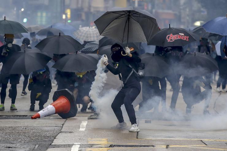 hong kong protesti, nemiri