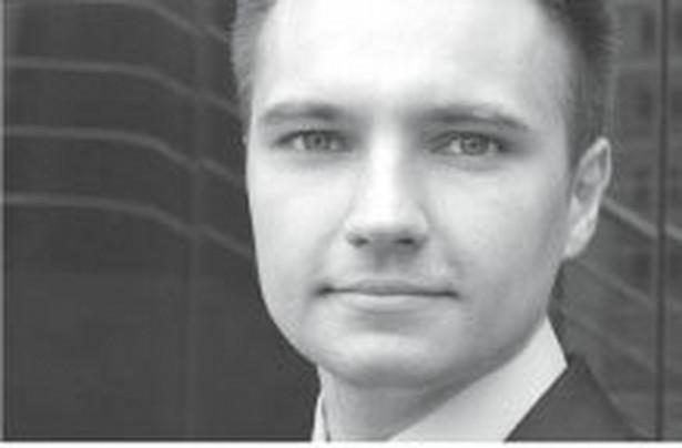 Grzegorz Pniewski, z Urzędu Ochrony Konkurencji i Konsumentów Fot. Archiwum