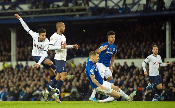 Detalj sa utakmice Everton - Totenhem