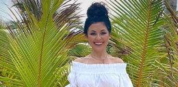 Katarzyna Cichopek pluska się na Dominikanie w skąpym kostiumie kąpielowym. Fani są podzieleni
