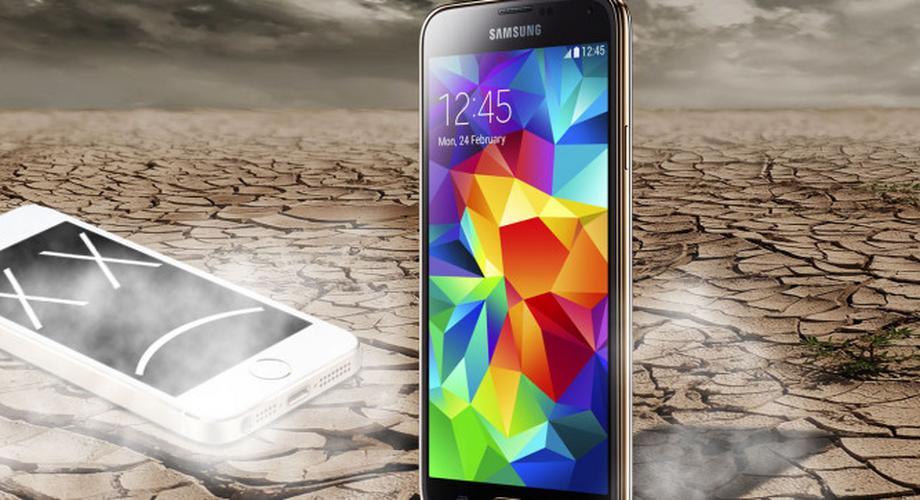 Samsung Galaxy S5 legt besseren Start hin als iPhone 5S