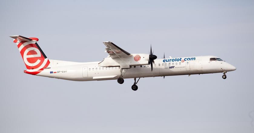 PLL LOT przejęły flotę Bombardierów Q400 po upadku Eurolotu
