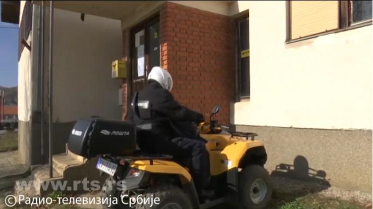 Poštar, Srbija