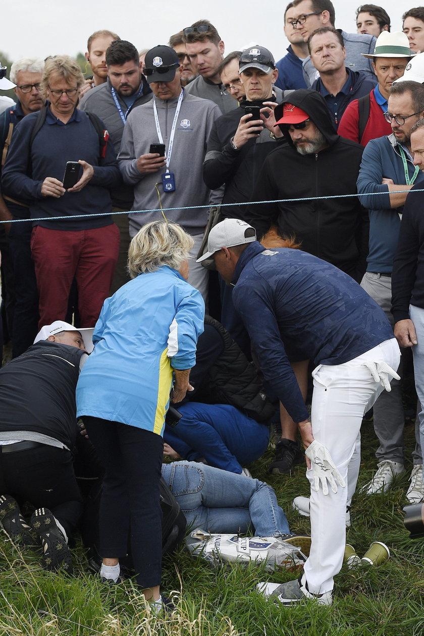 Amerykański golfista Brooks Koepka znokautował fankę