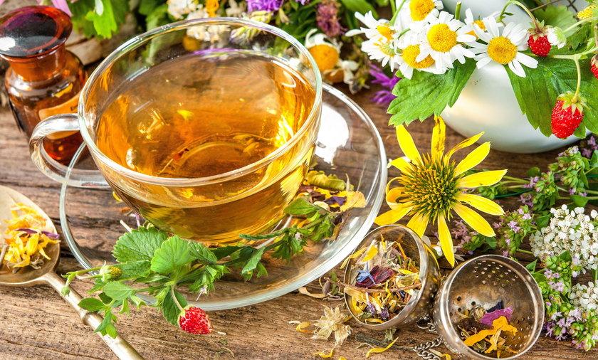Herbaty ziołowe. Które najlepsze?