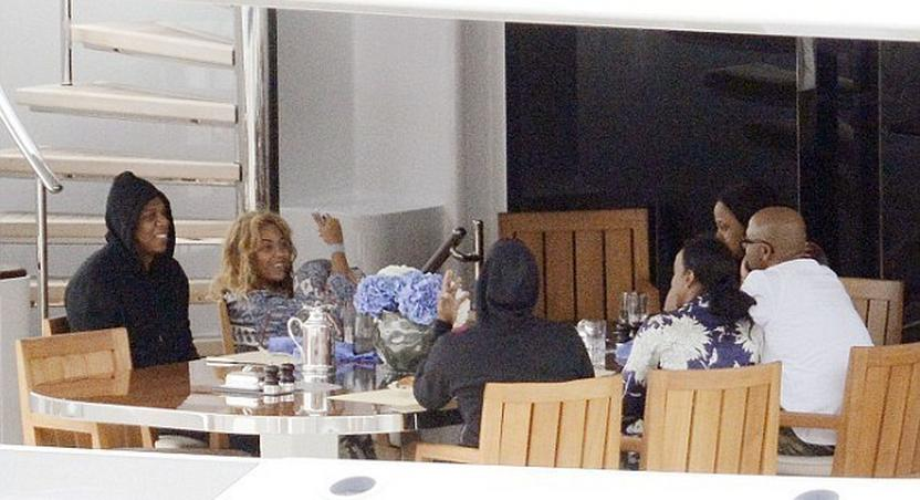 The Carter's on vacation in Italy