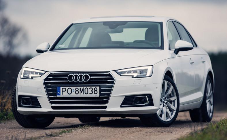 Audi A4 - hit wśród przestępców grasujących na Śląsku