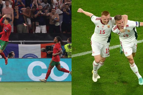 """Ovakvu EURO-LUDNICU niko nije očekivao! Mađari bili na pragu SENZACIJE, ali Nemci su Nemci! Francuzi i Portugalci podelili """"plen"""", Ronaldo ide dalje kao 2016!"""