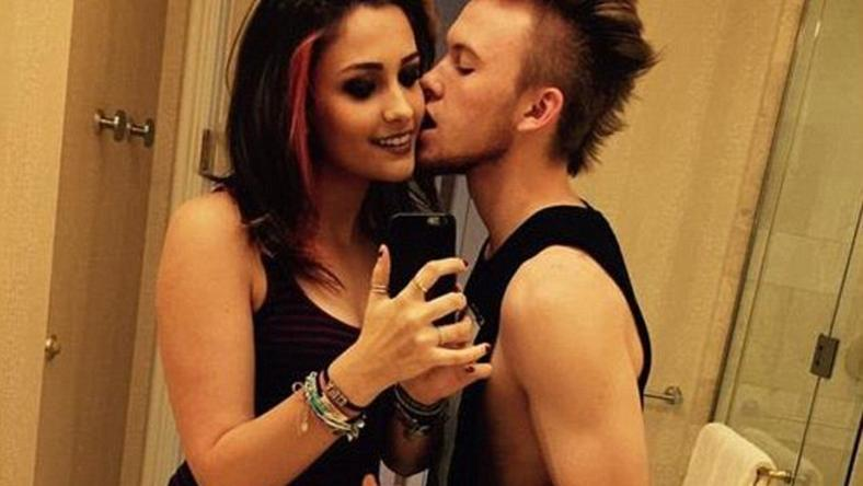 Paris Jackson and boyfriend,. Chester Castellaw
