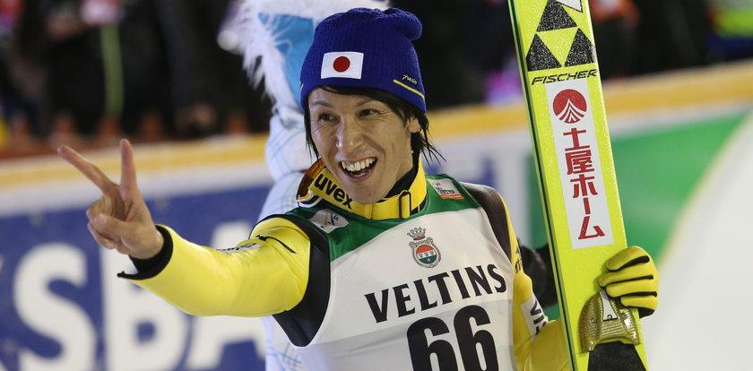 Chce zostać najstarszym mistrzem w skokach narciarskich!