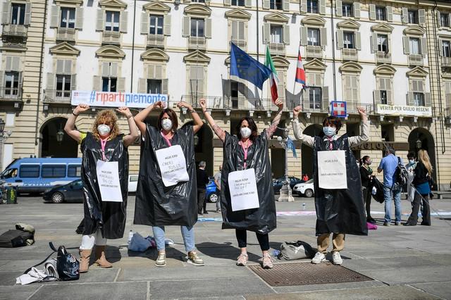 Protest u Torinu