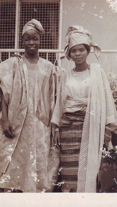 A Nigerian couple in 1965 [Credit - Nigerian Nostalgia Project]