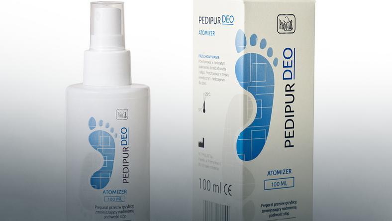 Pedipur Deo - preparat przeciw grzybicy stóp i paznokci