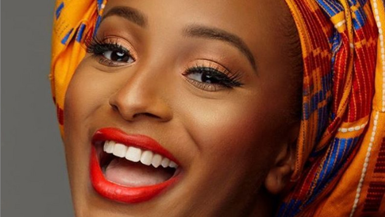 DJ Cuppy as the new Maybelline IT Girl [Instagram/Maybelline]