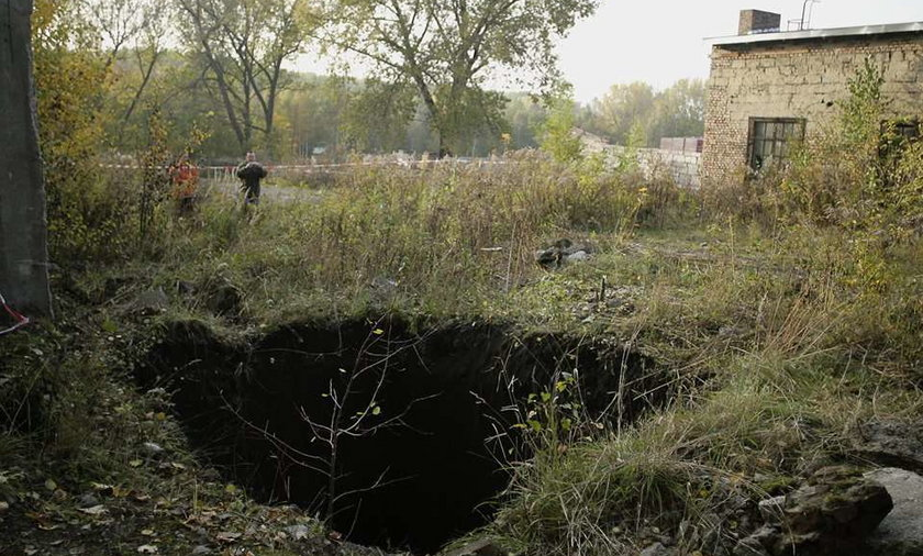 W Świętochłowicach pilnują dziury