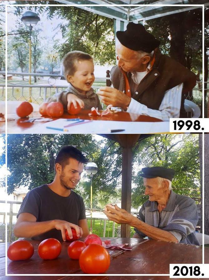 Deda i unuk