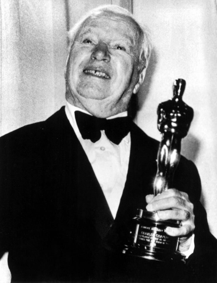 Charlie Chaplin - ceremonia w 1972 roku, Honorowy Oscar