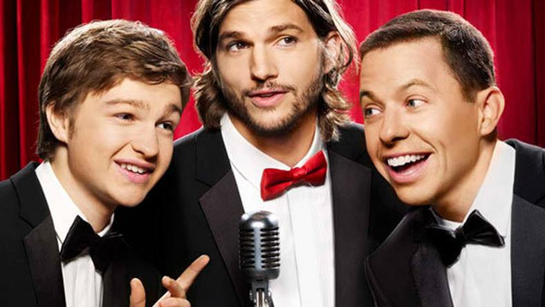 Angus T Jones, Ashton Kutcher i Jon Cryer