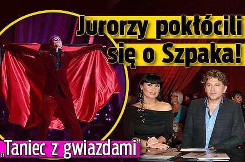 """""""Taniec z gwiazdami"""". Jurorzy pokłócili się o Szpaka!"""