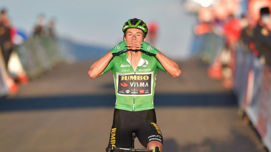 Primož Roglič wygrał w tegorocznej Vuelcie już dwa etapy.