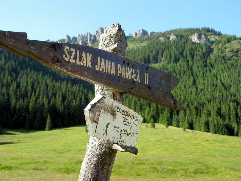 Szlak Papieski w Tatrach